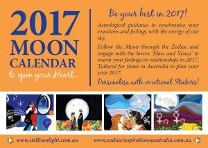 2017 Moon Calendar-Personalised