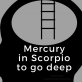 Mercury in Scorpio - Oct 25 to Nov 13, 2016
