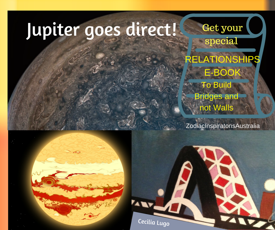 Jupiter in Libra goes direct to improve and expand Relationships!