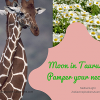 Moon in Taurus and Venus is flowing with Jupiter to pamper ourselves & say I love you!