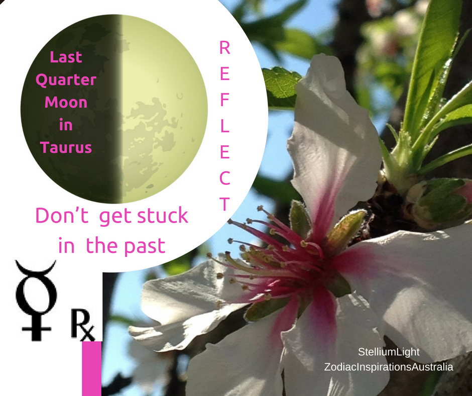 Mercury in Retrograde and the Moon in Taurus - capture the moment paying attention