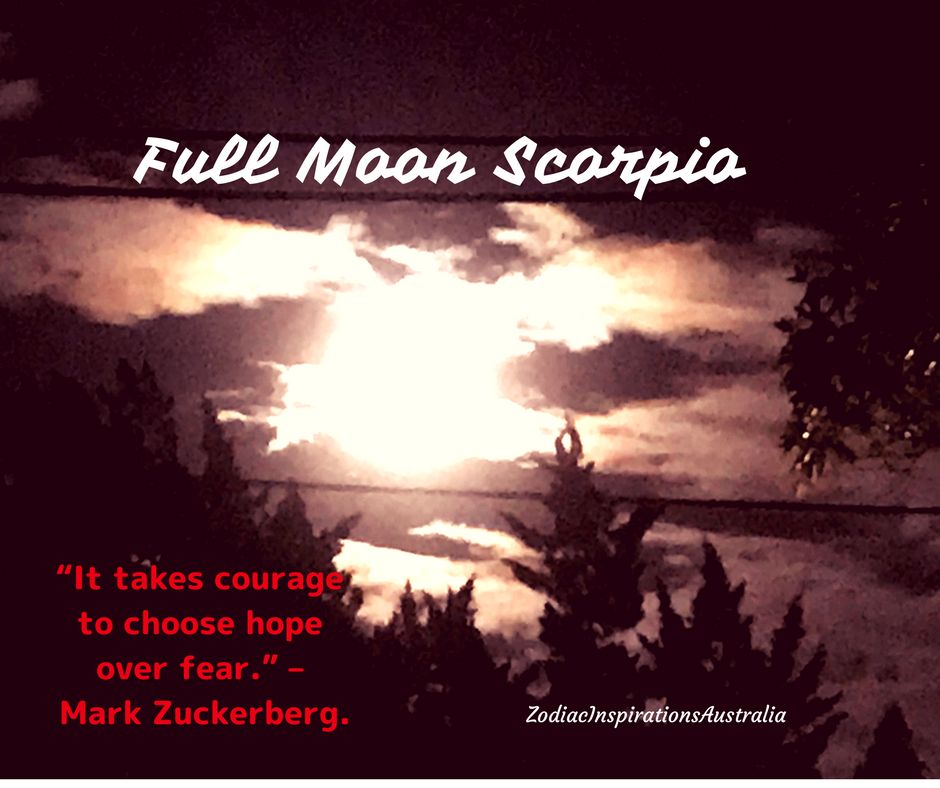 Full Moon Scorpio - to go for what you deeply want!!!