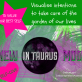 New Moon in Taurus to Visualise intention to take care of the garden of our lives