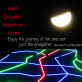 Moon in Aries - Last Quarter Moon Phase we need to take it easy to be able to tune in with our goals align with our deep inner feelings