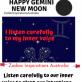 Gemini New Moon 23 May 20