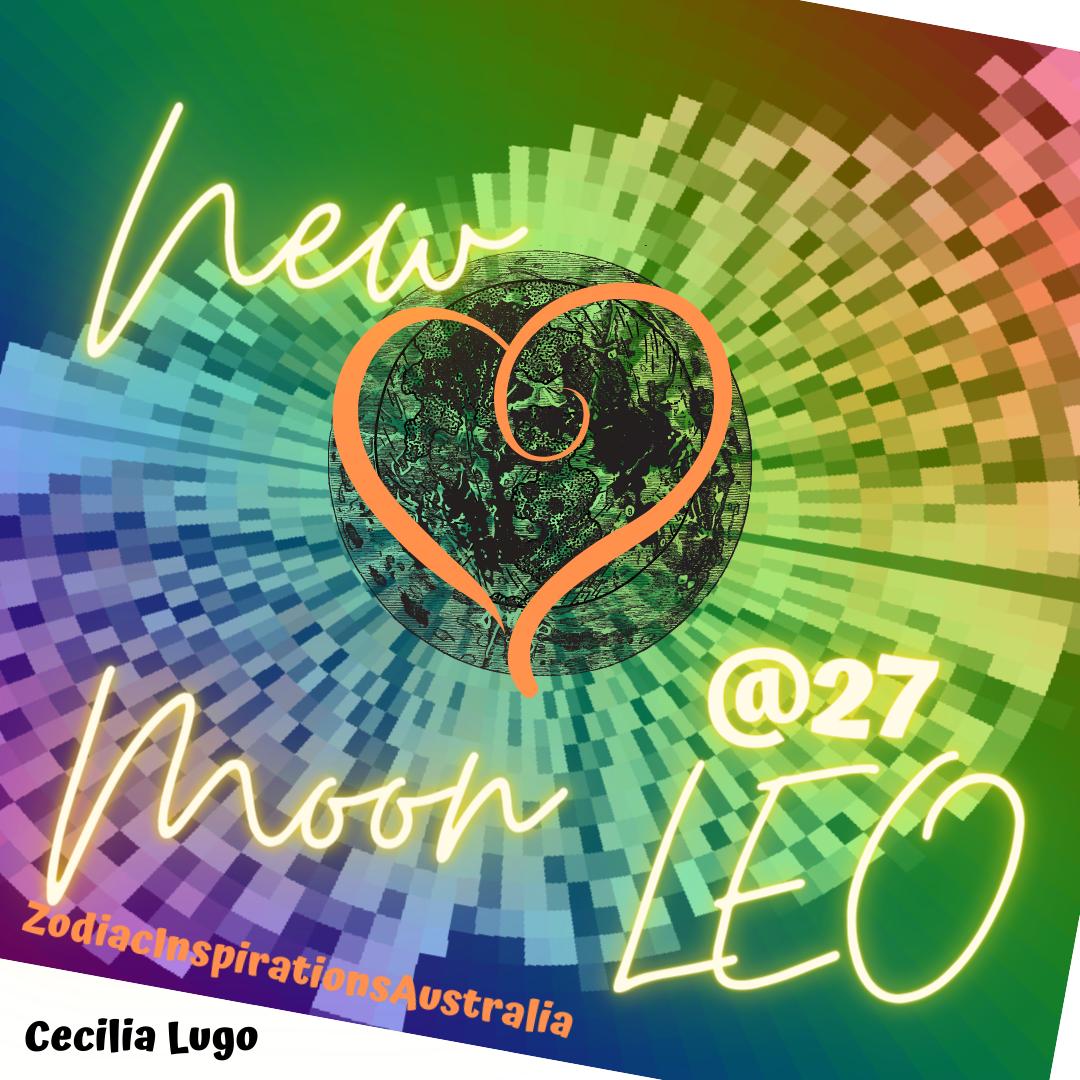 New Moon 🌑♌️- 19 Aug 20 at 12:41 pm AEST - Australia